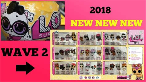 Sold Out Lol Pet Series Wave 2 1 lol pets series 3 wave 2 opening lol dolls series 3 confetti pop