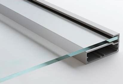 aluminum frame modena 171 aluminum glass cabinet doors
