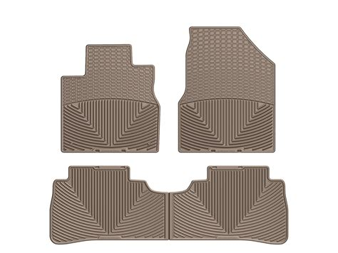 weathertech 174 all weather floor mats for nissan murano