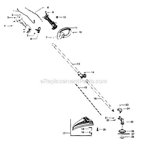 craftsman 32cc wacker parts diagram craftsman 358791170 parts list and diagram