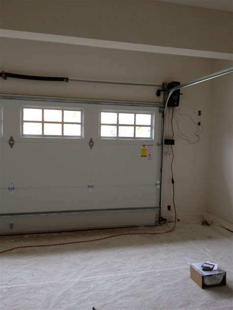 How To Install Garage Doors by Building Our Home From The Ground Up Progress