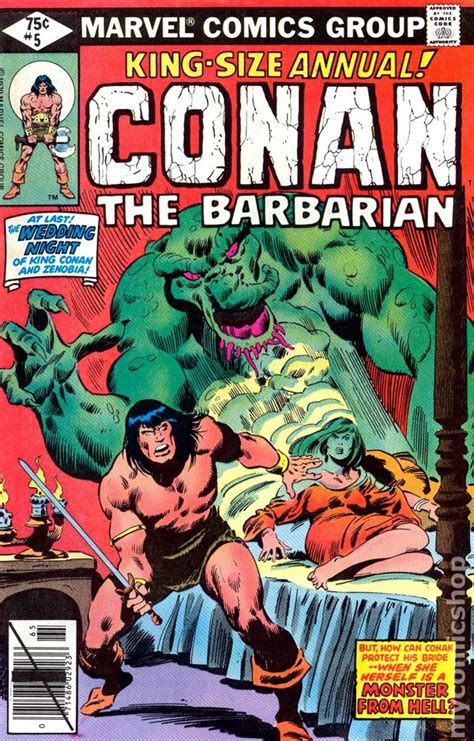 Conan the Barbarian (1970) Annual comic books C