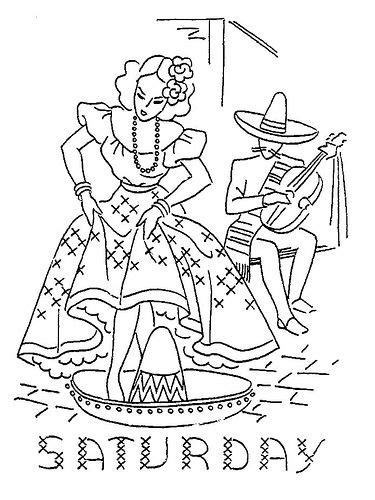mexican girl coloring page 227 best mexican embroidery patterns images on pinterest