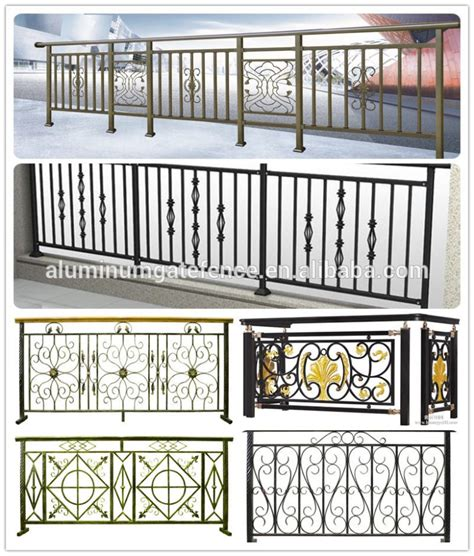 balcony railing fence metal mesh balcony grill iron grill
