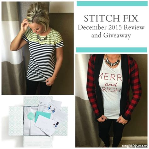 Stitch Fix Giveaway - my stitch fix december review and giveaway a cup full of sass