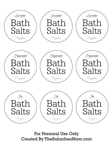 how to use bath salts in the shower how to make lavender bath salts printable gift tag