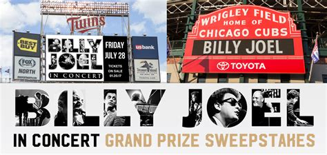 Billy Joel Is No Fan Of The National Anthem by Billy Joel In Concert Grand Prize Sweepstakes