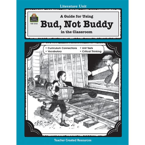 a guide for using bud not buddy in the classroom