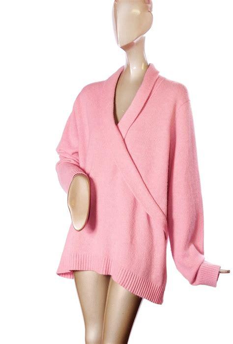 Rabyt Pink Sweater by Ralph 2x Lambswool Angora Rabbit Fur Soft Pink