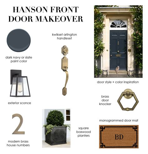 front door makeover lindsey s front door makeover elements of style bloglovin