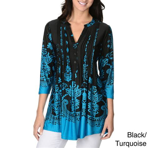 Mainaka Tunik Big Size la cera s printed pleated top tunic ebay