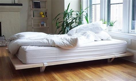 Great Bedroom Ideas floyd diy platform bed frame cool material