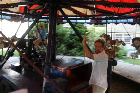 Backyard Carousel A Carousel For Falmouth Cape Cod Wave