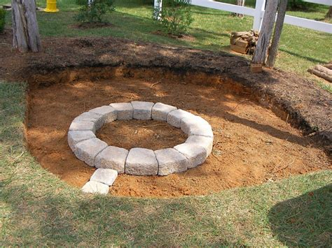 Creatively Luxurious Diy Fire Pit Project Here To Enhance How To Build A Backyard Pit