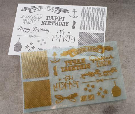 l letterpress printing birthday designs letterpress