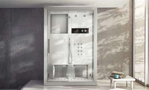 cabina doccia con bagno turco cabine doccia multifunzione idromassaggio foto 7 40