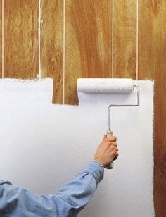 replacing wall paneling 1000 ideas about paint wood paneling on pinterest