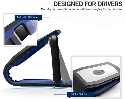 Silicon Non Slip Sticky Phone Holder Untuk Handphone 1 universal spigen stealth cradle holder smartphone mobil