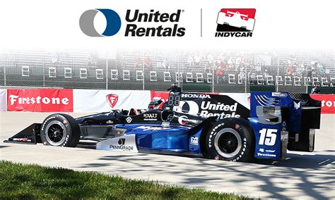top us rentals united rentals indycar announce multiyear partnership
