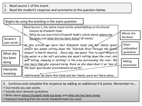 layout features gcse english higher revision guide gcse english exam