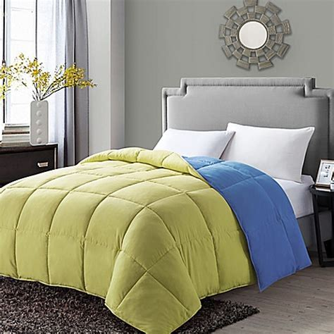 yellow twin comforter buy vcny paradise reversible down alternative twin