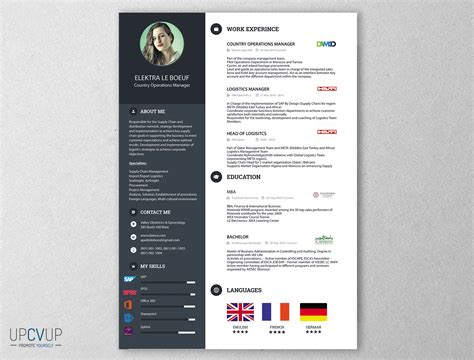 Resume Retail Examples by Cv Directeur Des Op 233 Rations Cv Directeur Upcvup