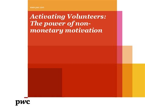 Cd The Power Of Motivation activating volunteers the power of non monetary motivation
