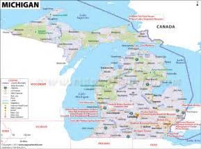 Michigan Usa Map by Michigan Usa Map