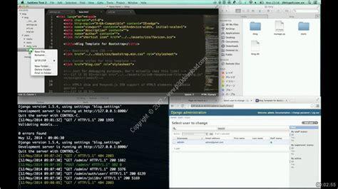 django tutorial hacker news خبرگزاری آريا دانلود udemy first simple blog with django