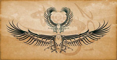 eagle tribal tattoo design by amoebafire on deviantart