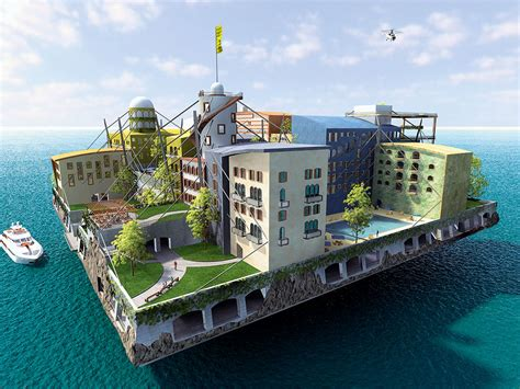 A Floating City could a future of floating cities be closer than we think