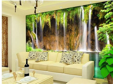 Bedroom Landscape Mural Wallcovering Luzzone Indonesia