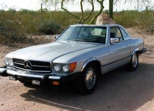 380sl Mercedes 1981 Mercedes 380sl Roadster 116522