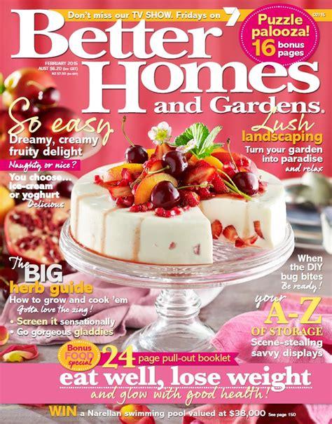 better homes gardens august 2010 187 pdf magazines archive better homes and gardens australia february 2015 free