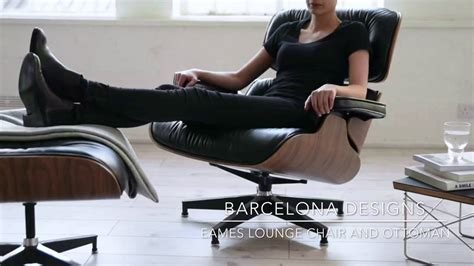 Vitra Lounge Chair Replica by Eames Lounge Chair Replica Barcelona Designs