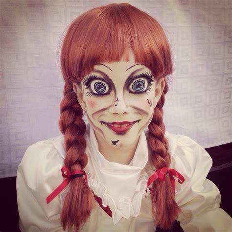 imagenes de halloween disfraz disfraz de anabelle anabel pelicula halloween con peluca