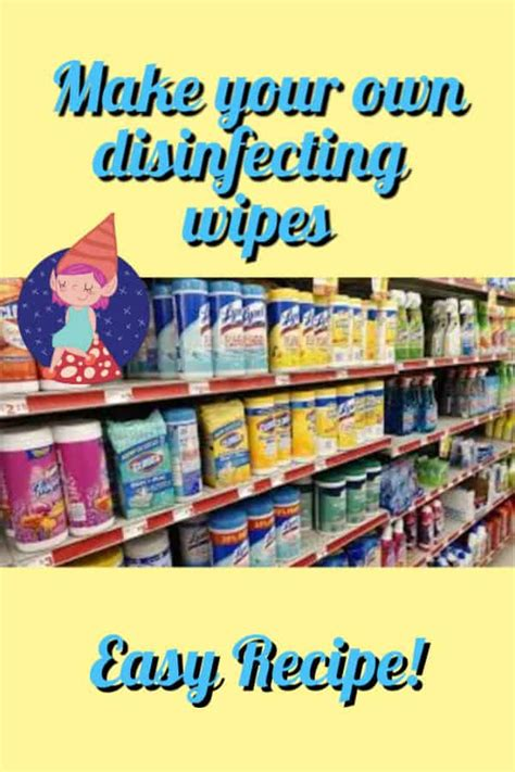 diy disinfecting wipes crafty  gnome