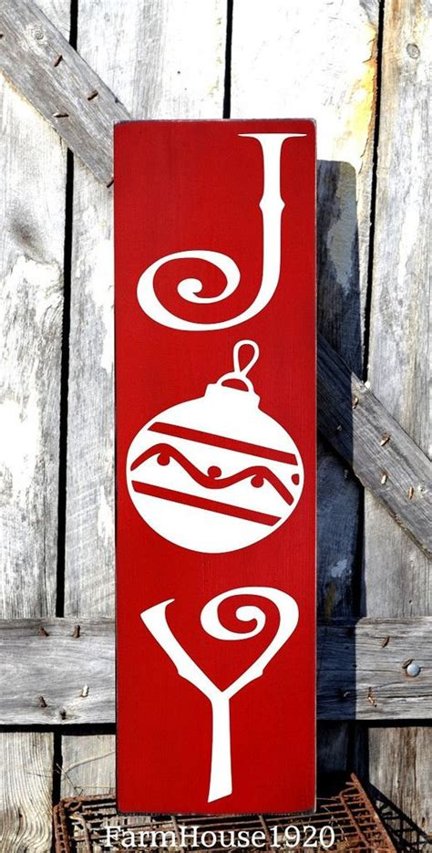 large christmas sign joy plaque christmas decorations