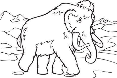 coloring book mammoth clip art at clker com vector clip