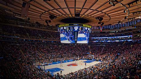 york knicks ticket availability msg