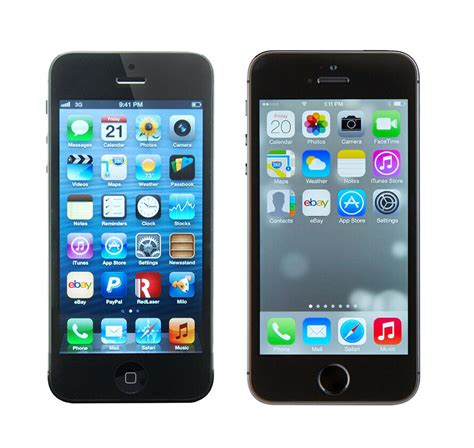 iphone 5 vs iphone 5s ebay