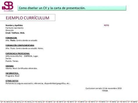 Modelos Carta Presentacion Curriculum Email Claves Para Elaborar Un Curriculum Y Enfrentarse A Una Entrevista De