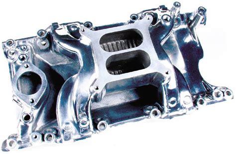 rod parts 187 mopar intake manifold polished