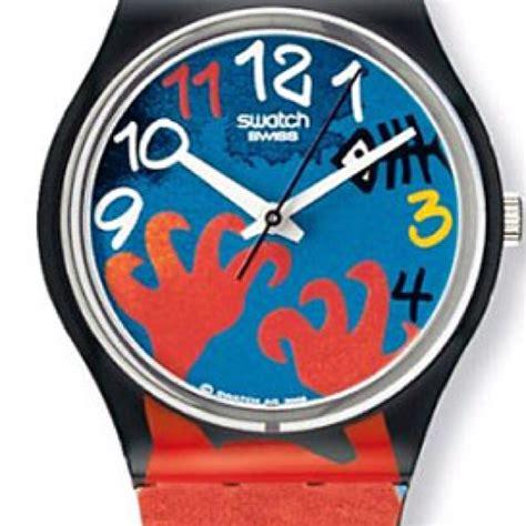 Jam Tangan Swatch Tipis koleksi pelbagai reka bentuk jam tangan dan hal benda