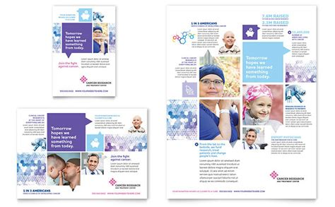 ad templates cancer treatment flyer ad template design