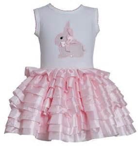 Bonnie jean sleeveless bunny applique pink eyelash tutu dress sold