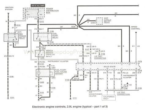 1990 ford probe fuel wiring diagram wiring diagram