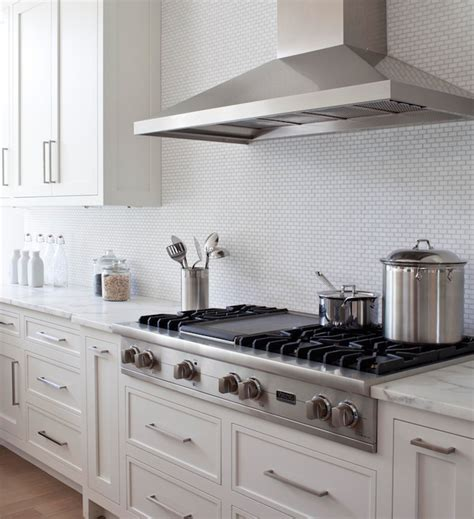 Mini Subway Tile Kitchen Backsplash Mini Brick Tile Backspalsh Transitional Kitchen Milton Development