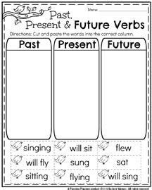 scoopin up verb tenses read the words at the bottom of