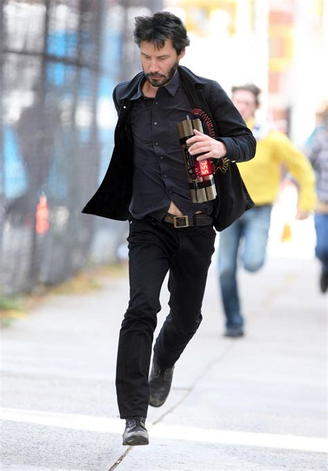 Keanu Reeves Runs The Paparazzi by Psbattle Keanu Reeves Running After Stealing The